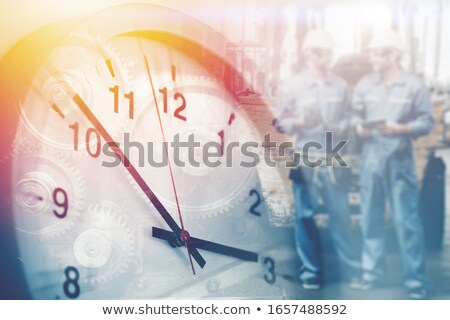 Time To Talk Clock Concept Stock photo © ivelin