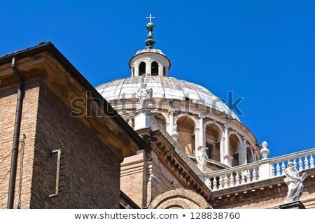 Santuario Italia view luce chiesa Foto d'archivio © boggy