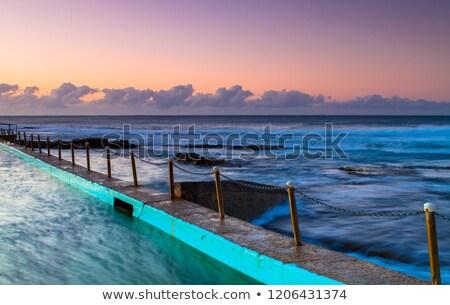 Sunrise Sydney costa rock vicino Australia Foto d'archivio © lovleah