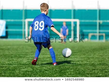 groep · jonge · jongens · voetbal · sportkleding - stockfoto © matimix