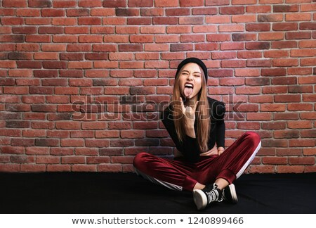 写真 スタイリッシュ ヒップホップ ダンサー スポーティー 少女 ストックフォト © deandrobot