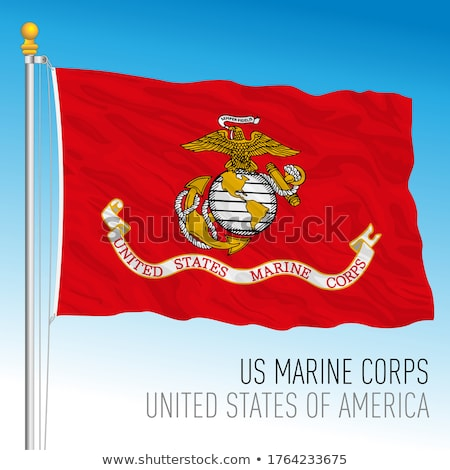 united states marine corps flag stock photo © brm1949
