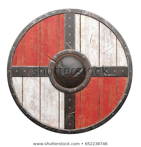 A viking's shield Stock photo © colematt