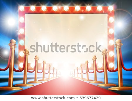Circus Red Carpet Stock photo © Lightsource
