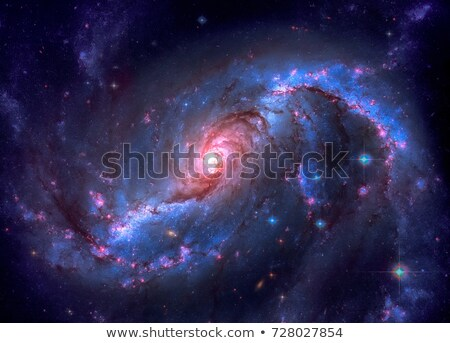 Barred spiral galaxy located in the constellation Dorado. Stock photo © NASA_images