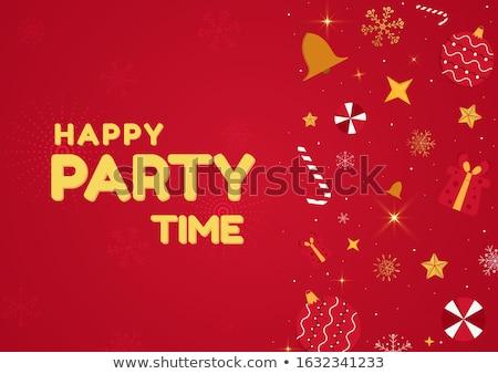 Azul medios tonos estilo año nuevo fiesta Foto stock © SArts