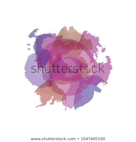 asbstract color splashes in violet colors Stock photo © glorcza