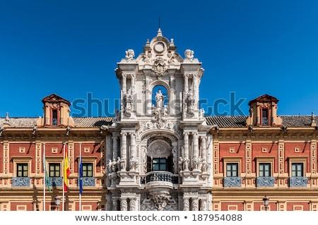 Palace of San Telmo, Seville, Spain Stock photo © borisb17
