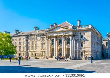 Parlament ház Dublin Írország otthon bank Stock fotó © borisb17