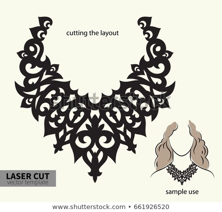 Vector laser ketting digitale bestand Stockfoto © sanyal
