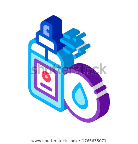Waterproof Spray isometric icon vector illustration Stock photo © pikepicture