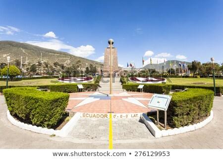 Equator line in Quito Ecuador Stock photo © photoblueice