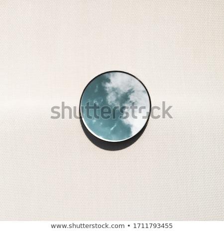Céu espelho azul nuvem Foto stock © pixelman