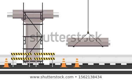 Side of scaffolding Stock photo © Elenarts