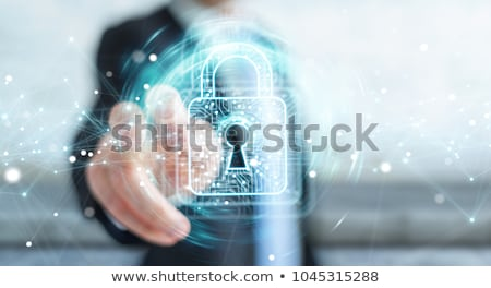 protected data Stock photo © pterwort