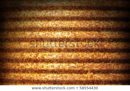 Corroded rusty surface lit dramatically Stock photo © Balefire9