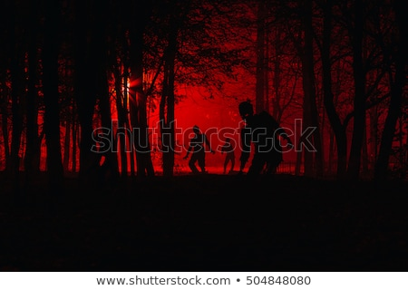Bloodthirsty Zombie Stock photo © blamb