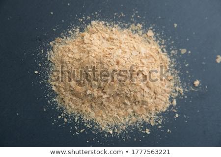 Taze bira maya beyaz kâğıt ekmek Stok fotoğraf © deyangeorgiev