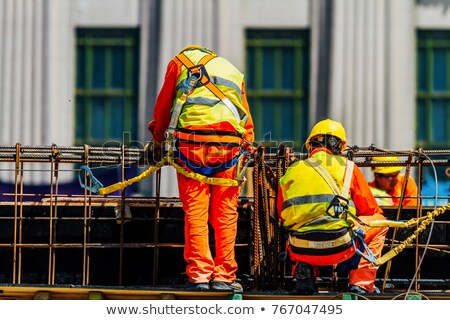 Two mason at work. Stock photo © photography33