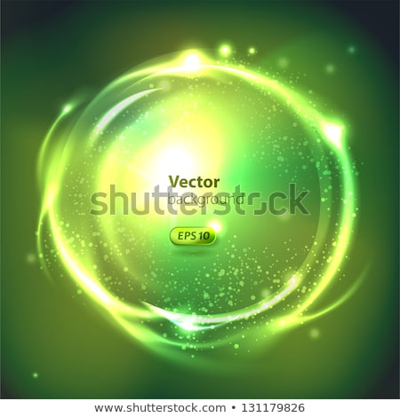 Glas bal vector tekstballon illustratie abstract Stockfoto © smeagorl