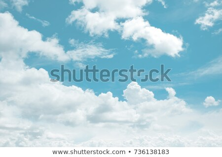 Absztrakt gyönyörű kék ég csinos tél mennyei Stock fotó © scheriton