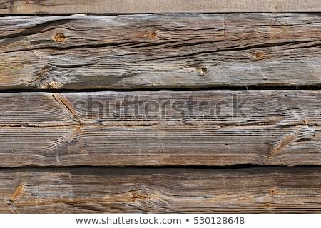 Old wood detail. Stock photo © Pietus