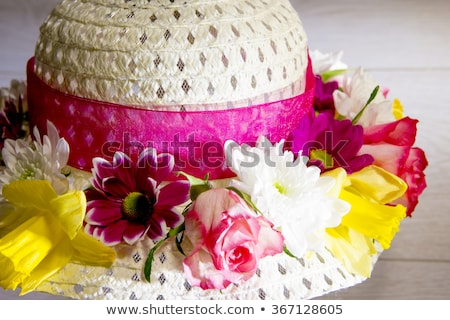 Woman with an Easter bonnet Stock photo © photography33