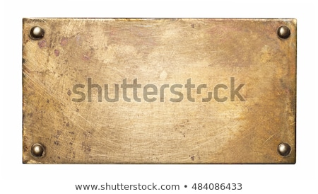 enferrujado · noz · parafuso · isolado · branco · construção - foto stock © haraldmuc