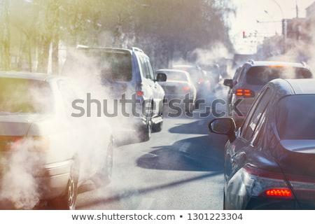 車 · 排気 · 汚染 · クローズアップ · モータ · パイプ - ストックフォト © Rob300