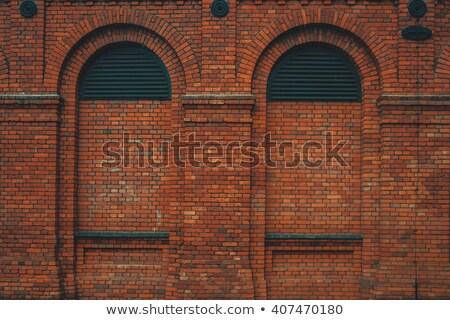 round brick windows stock photo © robertosch