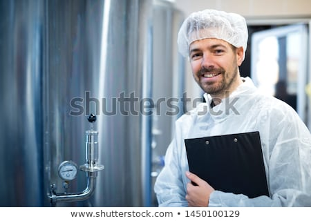 Sterile machine with operator Stock photo © photosoup