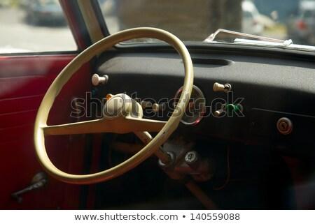 Very Old Car Interior Stock Photo C Jiri Vaclavek Jonnysek