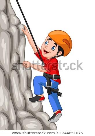 ロープ · ヘルメット · 特別 · 登山 · 健康 - ストックフォト © Aikon