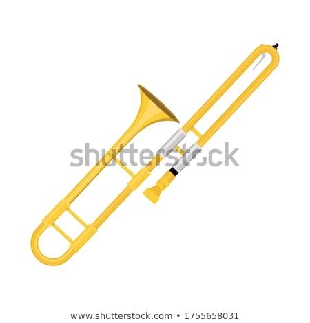 Trombone Instrument Stock photo © cteconsulting