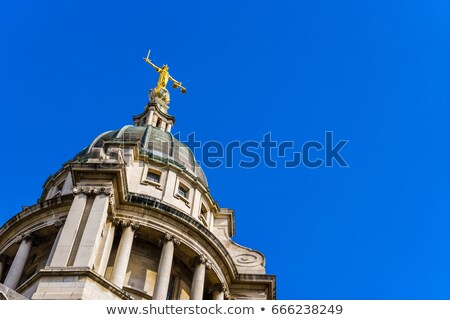 Сток-фото: Lady Of Justice Old Bailey
