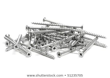 yalıtılmış · atış · az · ahşap · Metal · sanayi - stok fotoğraf © shanemaritch