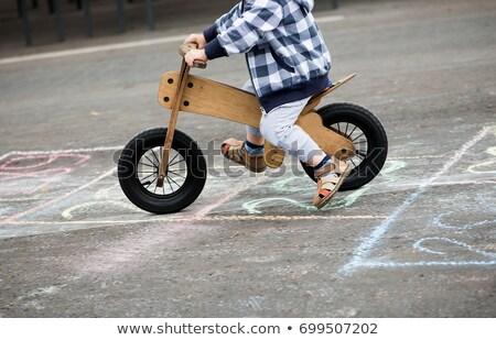 Wooden bike Stock photo © smuki