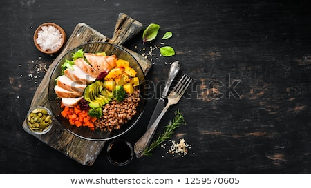 Balance your diet. Stock photo © lithian