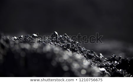 black coal heap or pile stock photo © speedfighter
