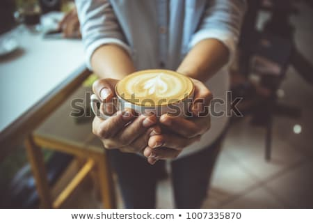 coffe with love stock photo © compuinfoto