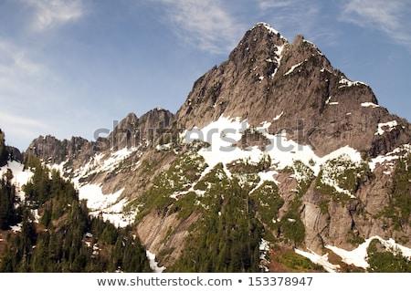 高い 高山 北 カスケード アメリカ ストックフォト © cboswell