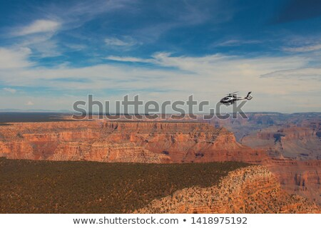 Grand Canyon taken from helicopter Stock photo © weltreisendertj
