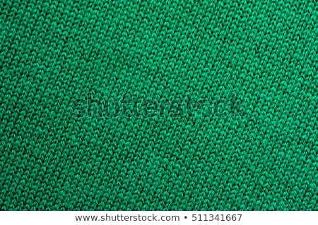 green wool texture stock photo © homydesign