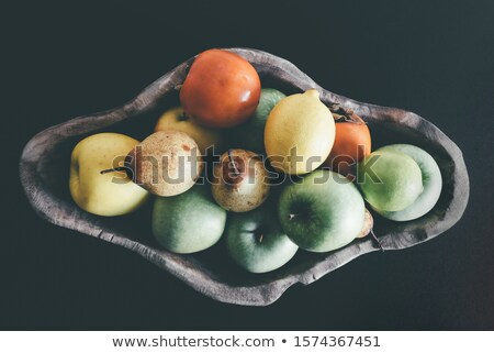 два · зеленый · груши · изолированный · белый · свежие - Сток-фото © tab62