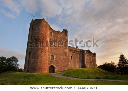 Zamek Szkocji podróży architektury Europie historii Zdjęcia stock © phbcz
