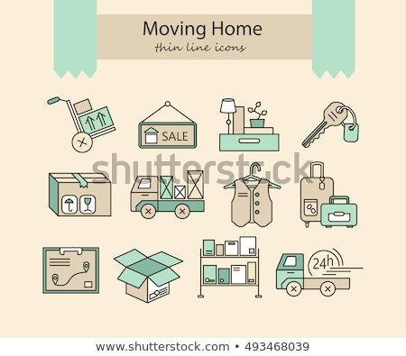 Moving House with Forklift stock photo © eyeidea