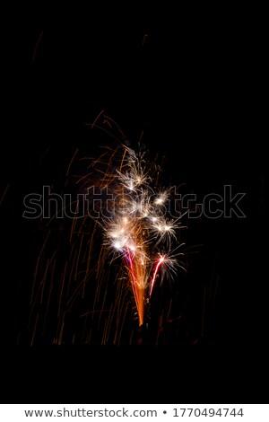 Hora de la fiesta la exposición a largo tiro agua verde oro Foto stock © moses