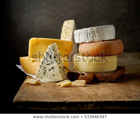 Gourmet cheese piece Stock photo © natika