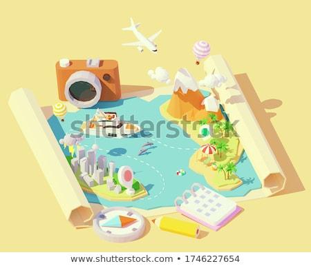 Camera And Yachts Stok fotoğraf © tele52