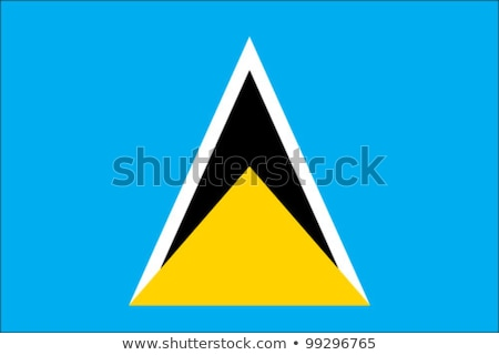 Flag St. Lucia Stock photo © Ustofre9